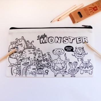 Crayones & Estuche para colorear Monster