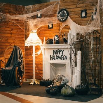 Kit décoration halloween pour hôtels et restaurants