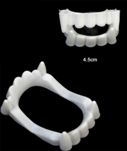 Dentier de vampire pour hôtels, restaurants