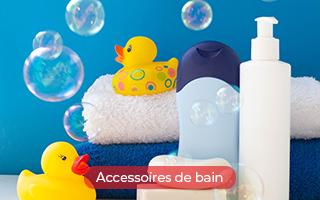Accessoires de bain pour les enfants dans les hôtels