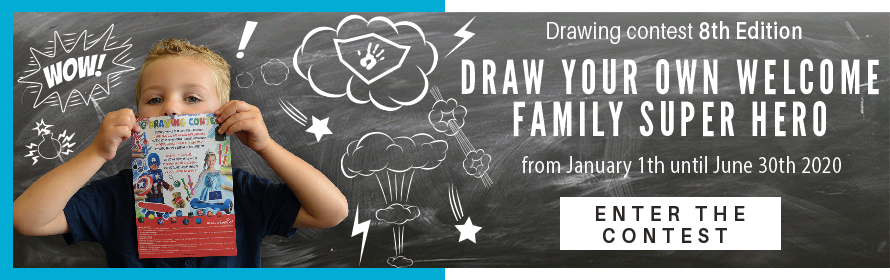 Drawing contest Welcome Family