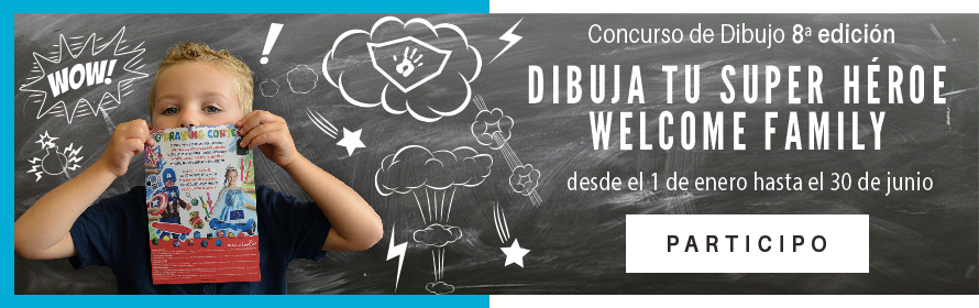 Concurso de dibujo Welcome Family