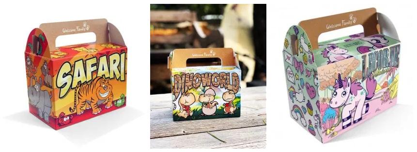 Lunchbox pour menu enfant