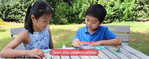 Jeux éco-responsables pour les menus enfants dans les restaurants