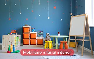 Mobiliário infantil interior