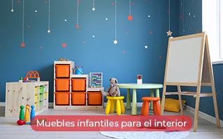 Muebles infantiles para el interior