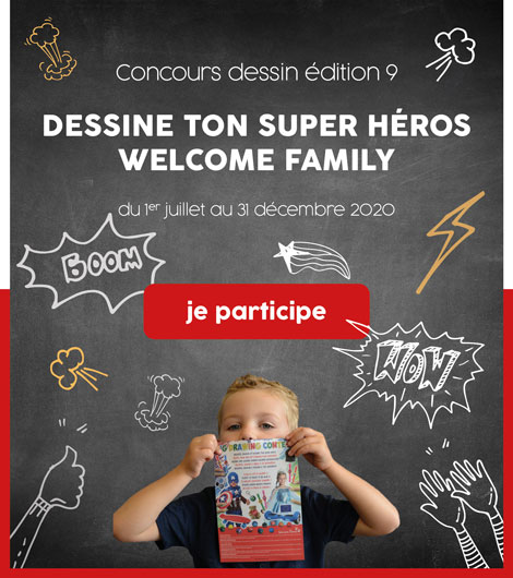 Concours dessin Welcome Family