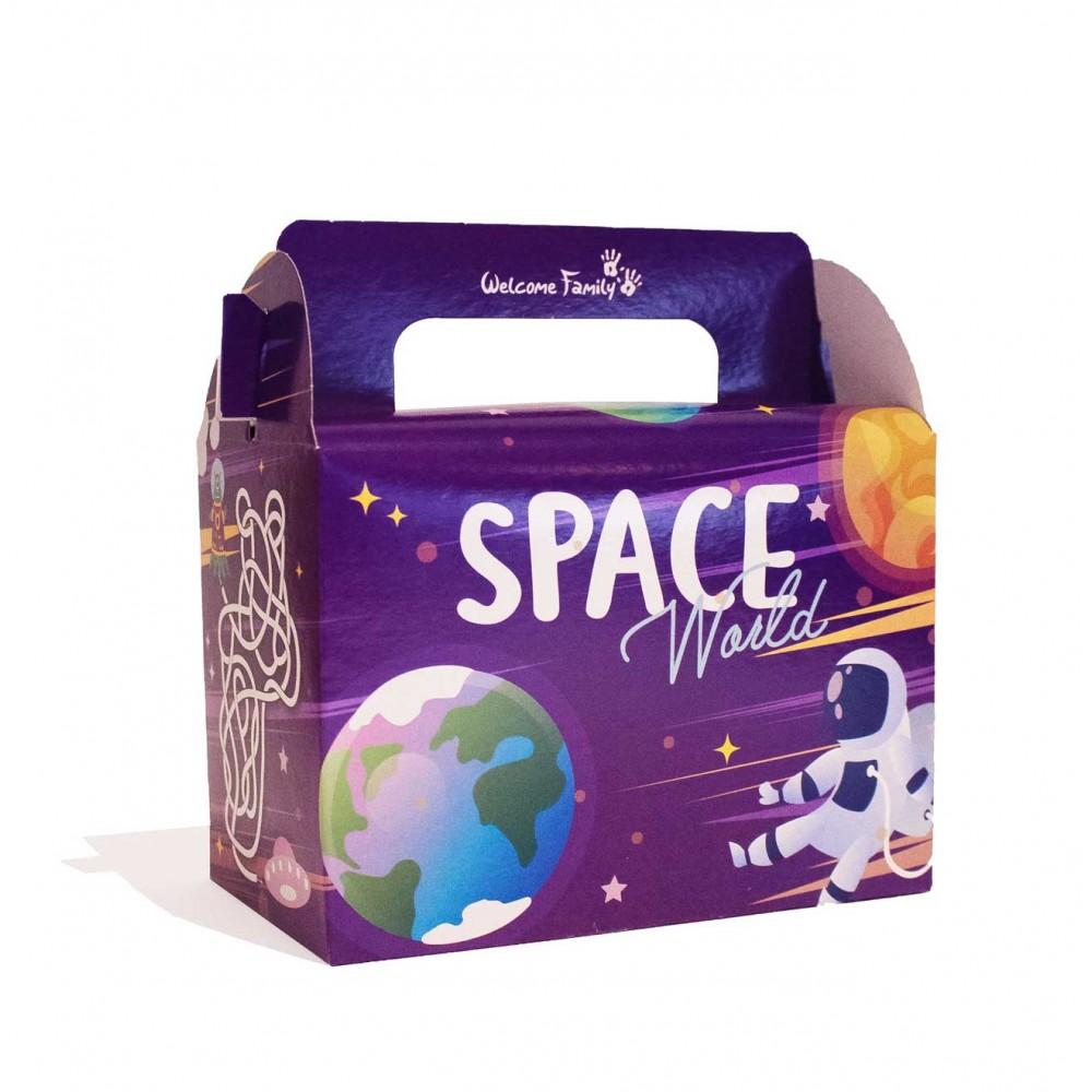 Caja para menú infantil Space