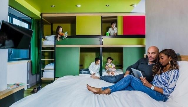 Chambre familiale dans les hôtels