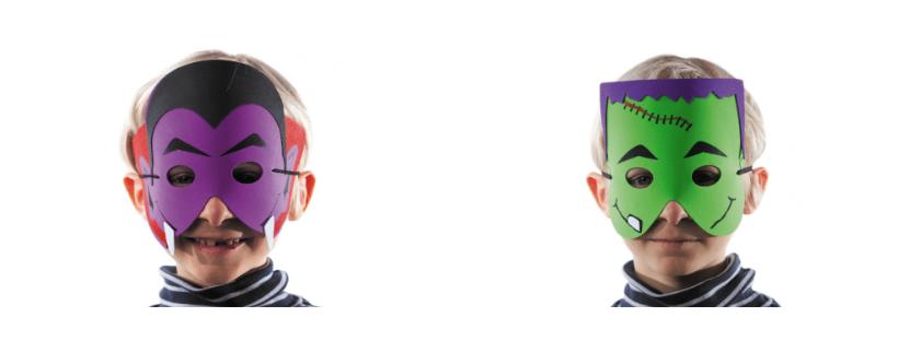 Masques d'Halloween pour enfants dans les CHR