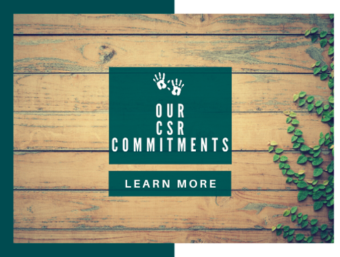 our csr commitments