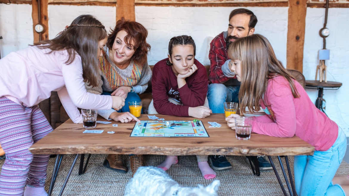 Family games and activities during confinement