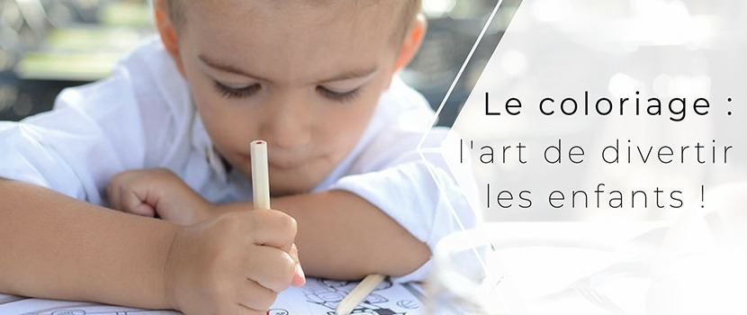 Le coloriage, l'art de divertir les enfants au restaurant !